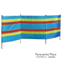 PARAVIENTOS PLAYA 152X300