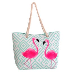 BOLSO PLAYA NEW FLAMINGO 51 X 16 X 36 CM